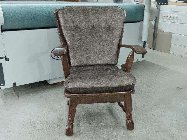 Meubelstoffen kopen voor Sr fauteuils velvet velours stoffen