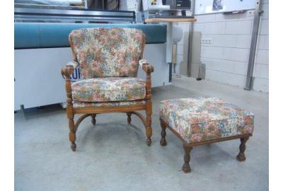 Klassieke Meubels stofferen met gobelin meubelstoffen