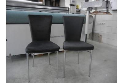 Eetkamer stoelen stofferen met Skai