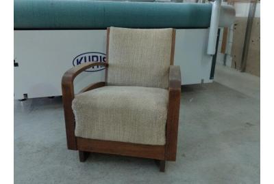 gobelin stoffen kopen voor antiek fauteuiltje