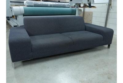 Bankstel bekleden met een ploeglook meubelstof alaves genoemd