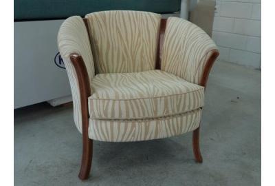 stof kopen voor het bekleden van een fauteuil