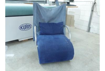 Alcantara stoffen kopen voor het bekleden van Ligne Roset fauteuil