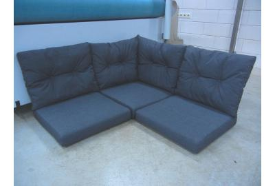 Outdoor Loungeset Kussens bekleden met outdoor meubelstoffen