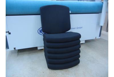 Comforto Bureaustoelen stoffeeren met Extreme rekbare meubelstoffen