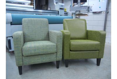 stoelen bekleden met los kussen
