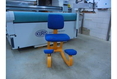 Stokke stoel Bekleden met meubelleer