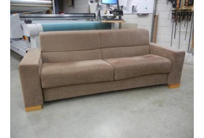 SlaapBank Stofferen met geméleerde meubelstof