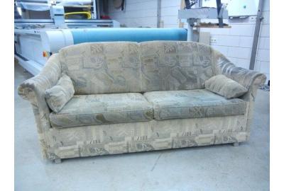 Bekleden 2 zits bank met meubel-stoffen de ploeg collectie Pine