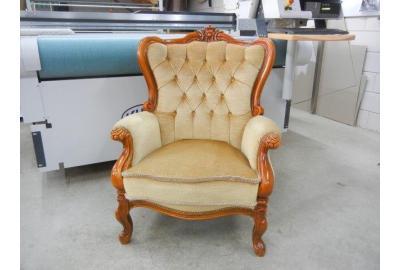 wollen velours stoffen kopen voor barok stoelen
