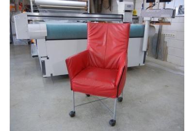 Leer kopen voor montis Charly stoelen met klassiek meubelleer
