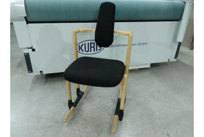 Ploegwool stof voor het bekleden van een stokke stoel