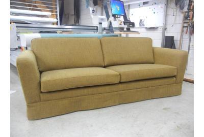 2 zits bank bekleden met meubelstof kymer