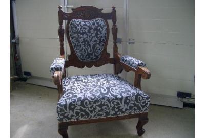 Barok stoel callabero bekleding