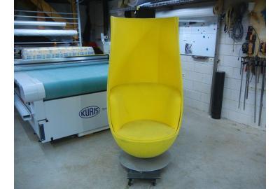 Tulpstoelen nieuwe bekleding